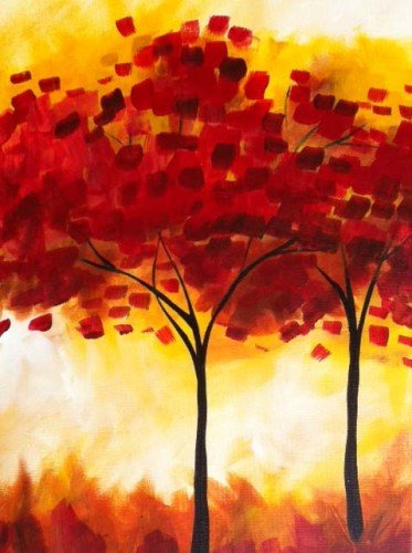 Painting Workshop: Fall Trees