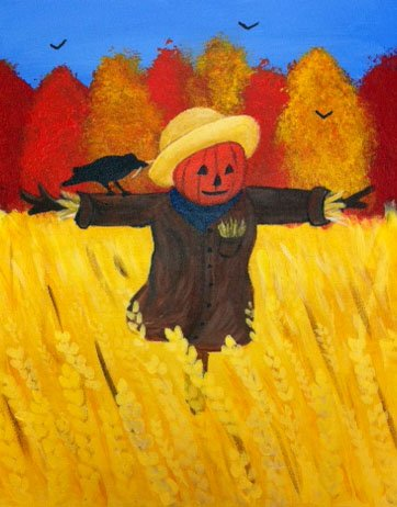 Painting Workshop: Scarecrow