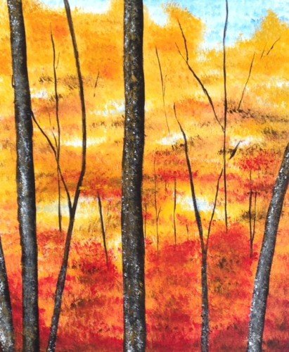Painting Workshop: Fall Trees 2
