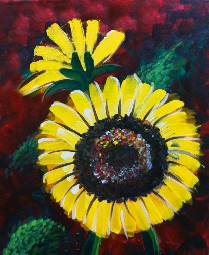 Painting Workshop: Sun Flowers