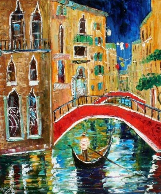 Painting Workshop: Venice by Karen Tarlton