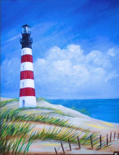 Painting Workshop: Lighthouse