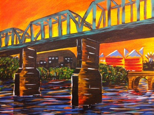 Painting Workshop: Walking Bridge