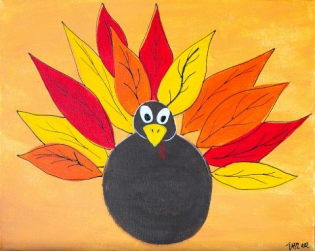 Painting Workshop: Kids Camp November Turkey Time!