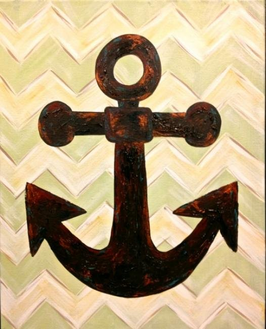 Painting Workshop: Chevron Anchor