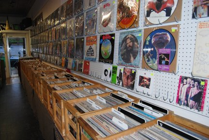 Chad's Records Interior