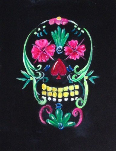 Painting Workshop: Day of the Dead