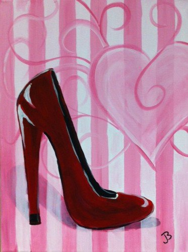 Painting Workshop: Red Shoe