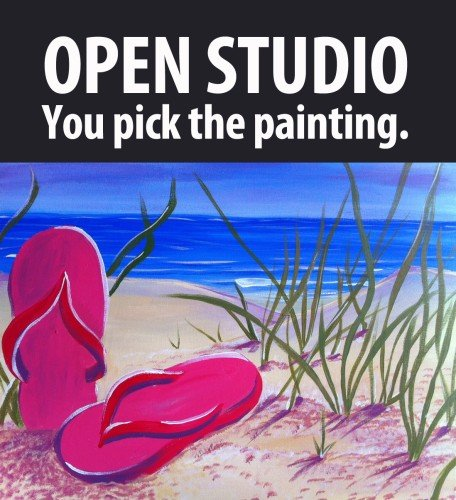 Open Studio - You Pick the Painting