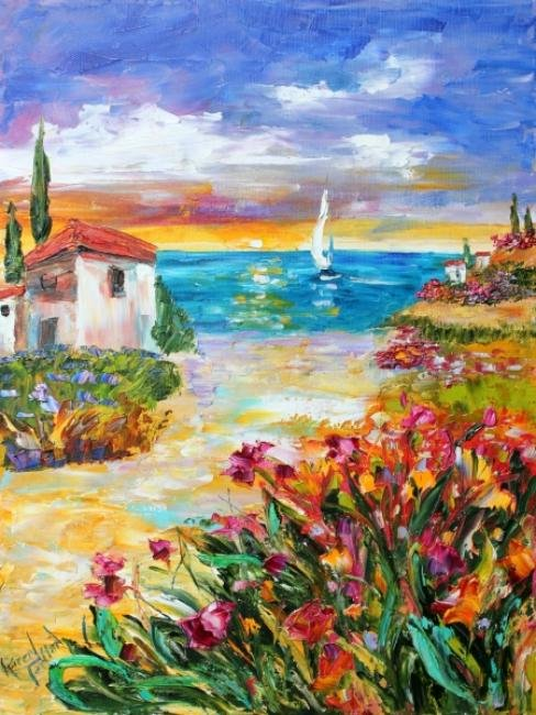 Painting Workshop: Karen Tarlton Villa