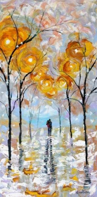 Painting Workshop: Karen Tarlton Winter Romance