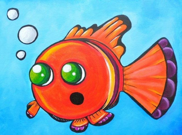 Painting Workshop: Kid's Goldfish