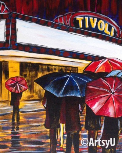 Painting Workshop: Chattanooga Tivoli (Customize your marquee)