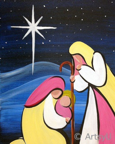 Painting Workshop: Nativity