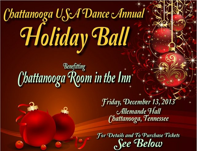 Chattanooga USA Dance Annual Holiday Ball