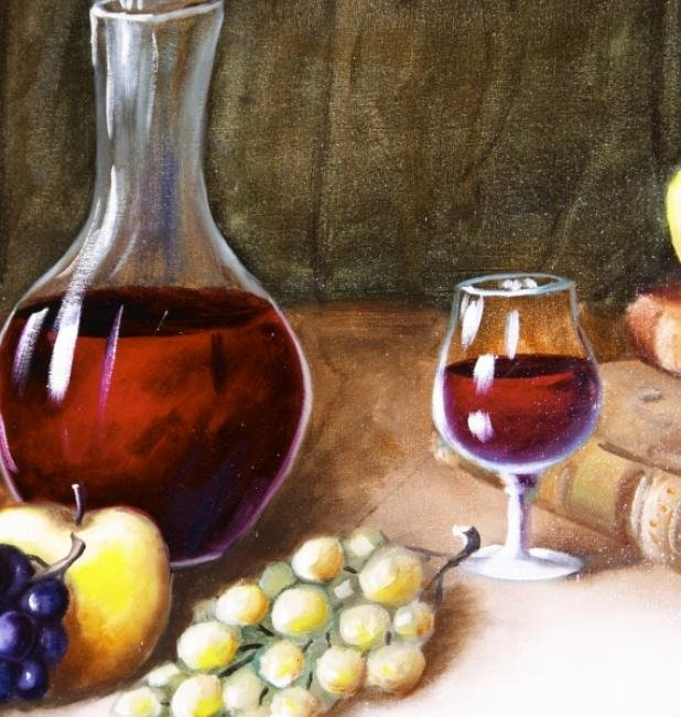 Painting Workshop: Fruit & Wine