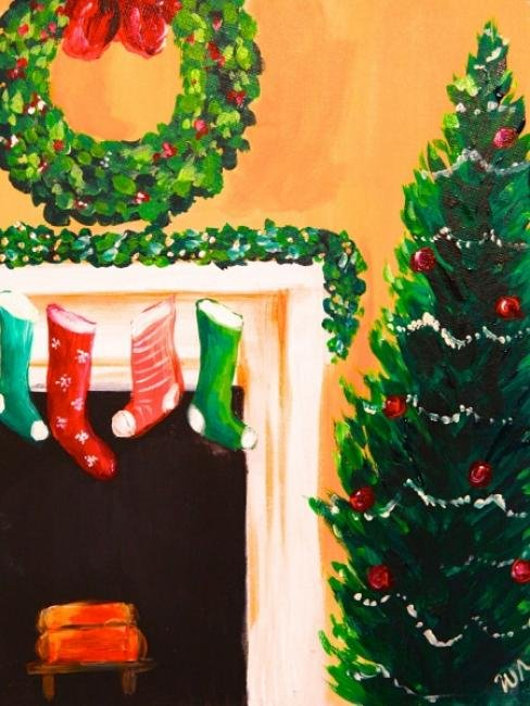 Painting Workshop: Christmas Stockings