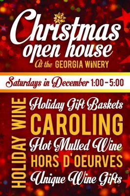 Christmas Open House at The Georgia Winery