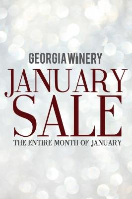 Georgia Winery January Sale