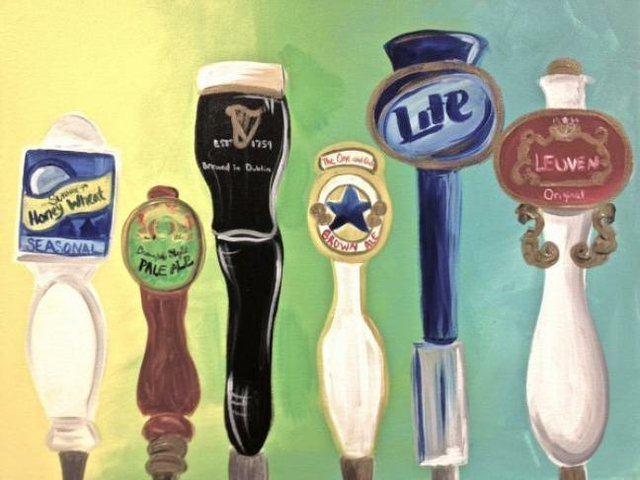 Painting Workshop: Beer Taps