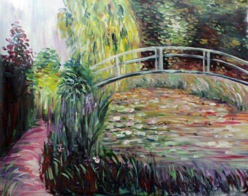 Painting Workshop: Japanese Bridge by Claude Monet