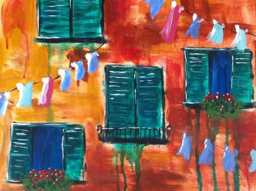 Painting Workshop: Venician Windows