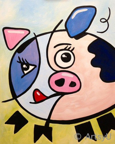 Painting Workshop: PIGcosso