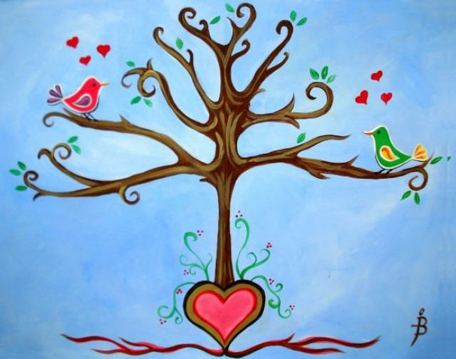 Painting Workshop: Love Tree