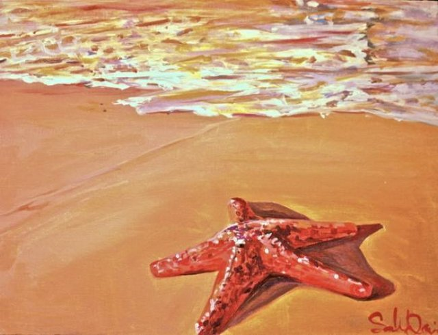 Painting Workshop: Starfish