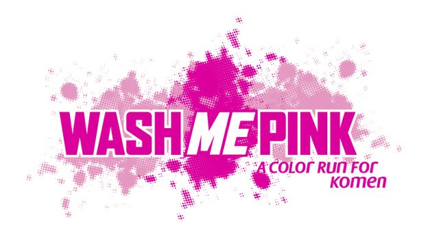Wash Me Pink - Color Run for Komen