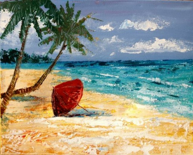 Painting Workshop: Beach