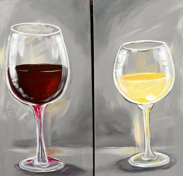 Painting Workshop:$25 Tuesday - Your Choice: Red or White
