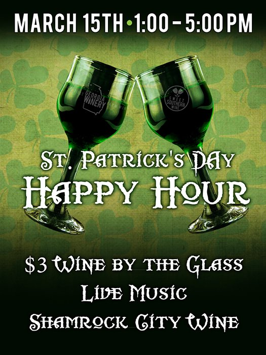 St. Patrick's Day Happy Hour
