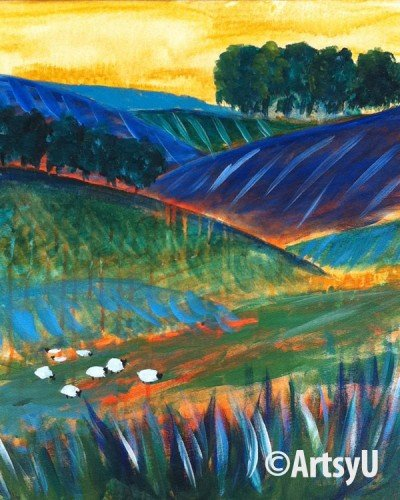 Painting Workshop: Abstract Field