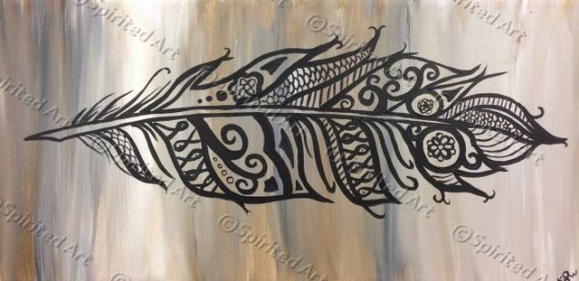 Painting Workshop: Tribal Feather