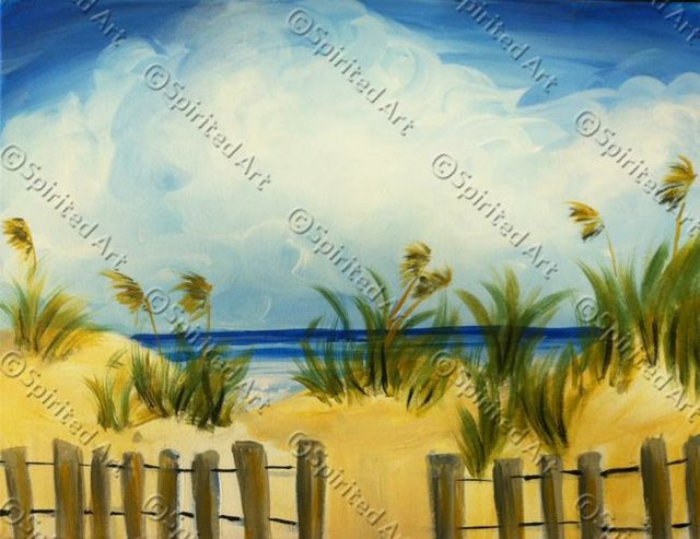 Painting Workshop: Beach Dunes
