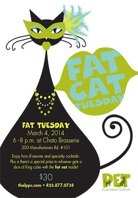 Fat Cat Tuesday Mardi Gras Party