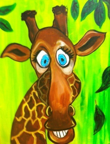 Painting Workshop: Kids Camp - Giraffe