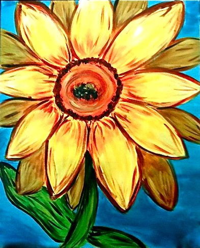 Painting Workshop: Sunflower