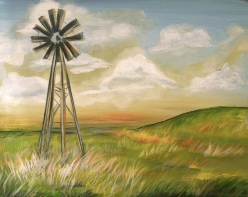 Painting Workshop: Windmill Landscape