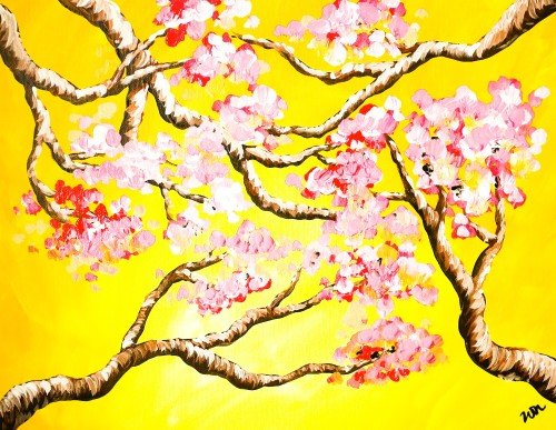 Painting Workshop: Van Gogh Style Spring Branches