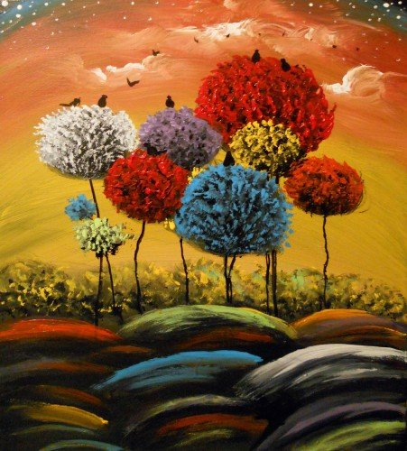 Painting Workshop: Matt Hamblin's Whimsicle Trees