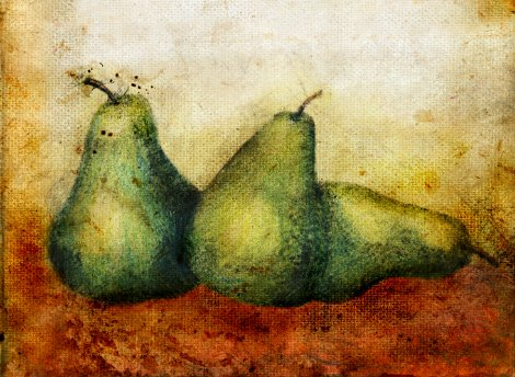 Painting Workshop: Palette Knife: Pears