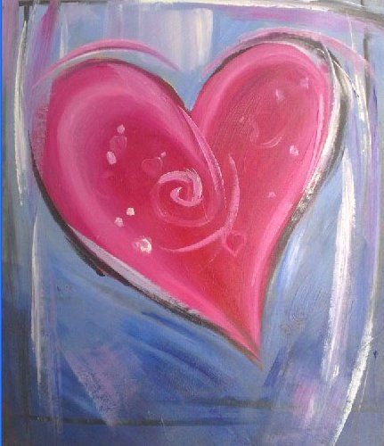Painting Workshop: Heart