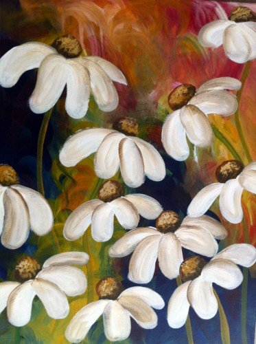 Painting Workshop: Lazy Daisy