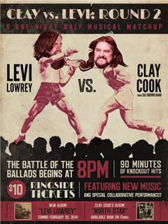 Clay Cook VS Levi Lowery