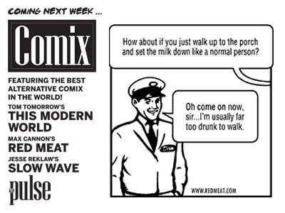 Comix Are Coming January 2012