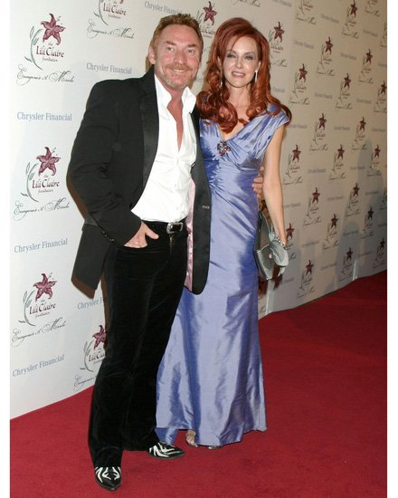 Gretchen and Danny Bonaduce
