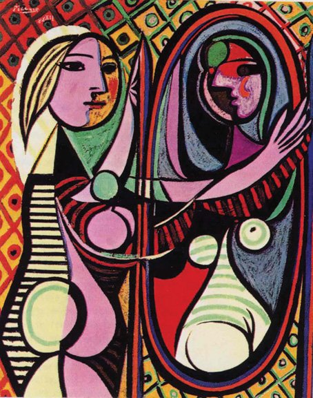 High Museum - Picasso - Girl In Mirror
