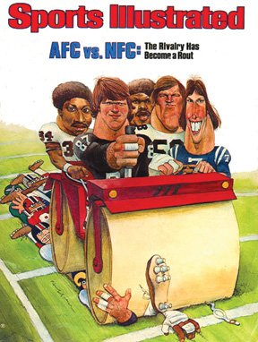 Sandy Huffaker - Sports Illustrated, Cover Illustration
